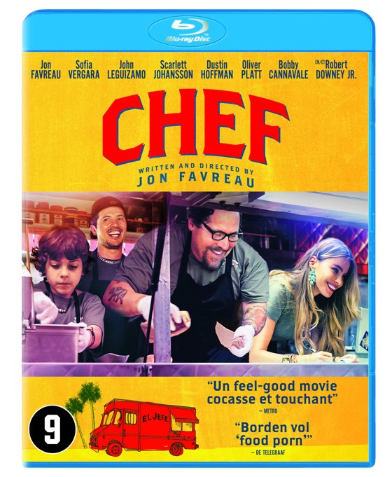 DVD cover van Chef (Blu-ray)