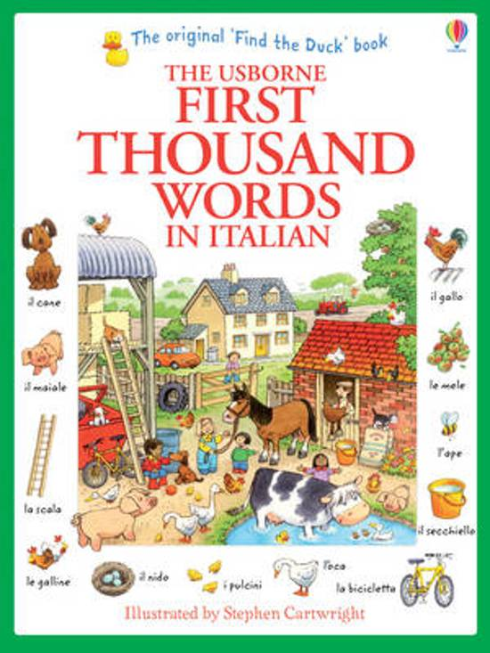 First Thousand Words in Italian