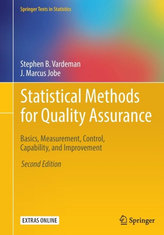 statistical method from the viewpoint of quality control walter a shewhart