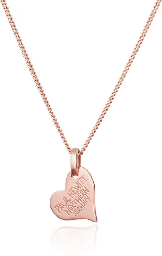 Paul Hewitt Necklace North Love PH-HN-R - Collier - Staal - Rosé - 44 cm