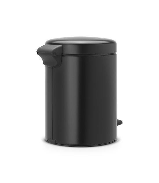 Brabantia NewIcon Pedaalemmer 5 Liter Mat Zwart