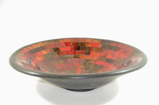Ongebruikt bol.com | schaal - glasmozaiek - decoratief of als bijv fruitschaal CJ-21