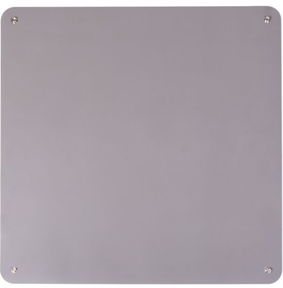 Premium ESD Rubber Table Mat incl. 4x 10mm Push Buttons 600mm x 610mm Grey