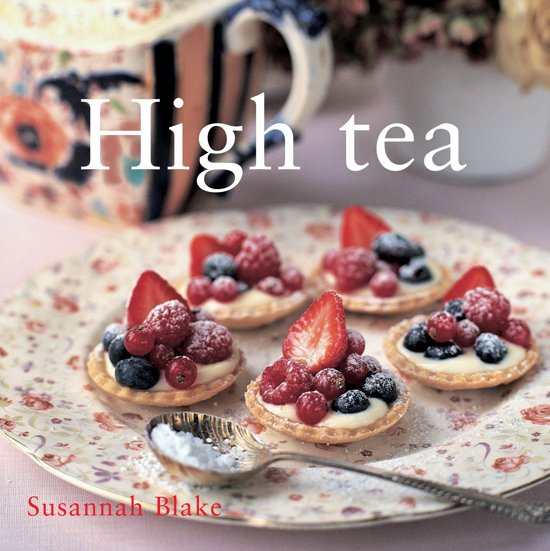 Boek cover High tea van Susannah Blake (Hardcover)