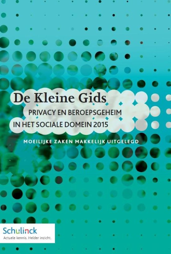 Privacy en beroepsgeheim in het sociale domein 2015