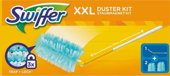 Swiffer Duster XXL  - 1 Vloerwisser Met 2 Navul Stofdoekjes - Starterkit