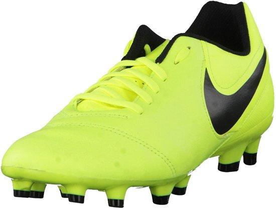 Nike - Tiempo Genio Ii Fg Football En Cuir - Unisexe - Chaussures - Noir - 46,5