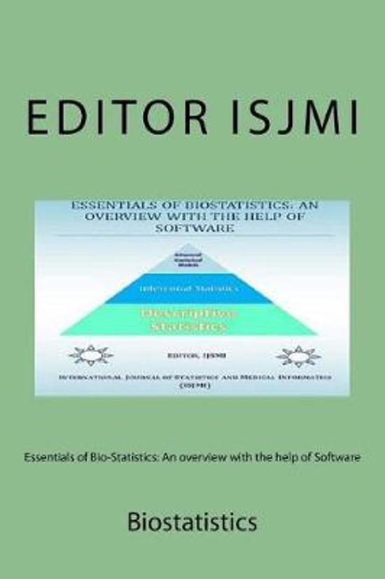 Essentials of Bio-Statistics