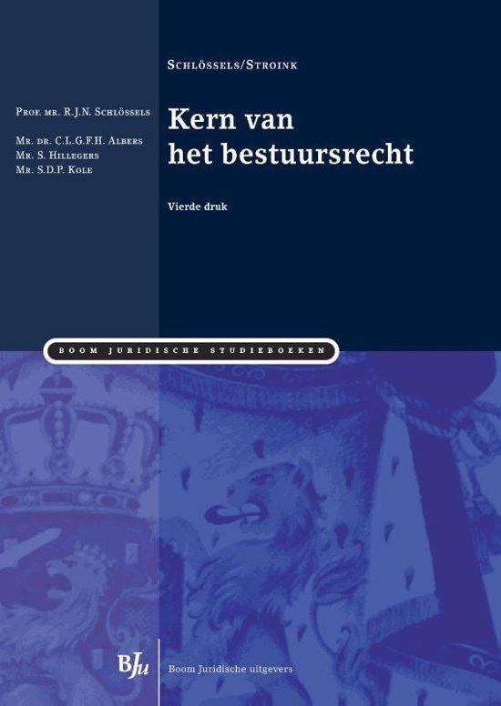 Boom Juridische studieboeken Kern van het bestuursrecht