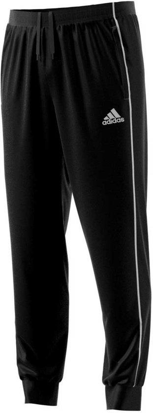 adidas Core 18 Sweat  Trainingsbroek - Maat 164  - Unisex - zwart