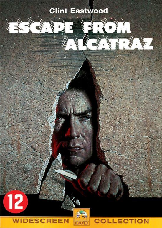 Cover van de film 'Escape From Alcatraz'