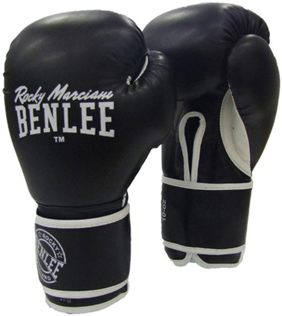 Bokshandschoenen Benlee Quincy 12oz zwart