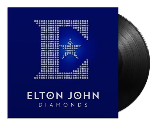 CD cover van Diamonds (LP) van Elton John
