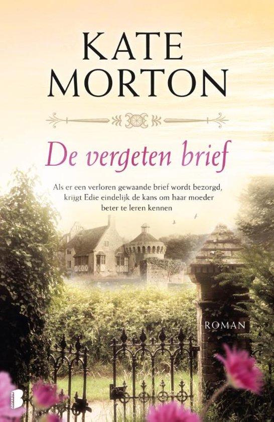 Boek cover De vergeten brief van Kate Morton (Paperback)