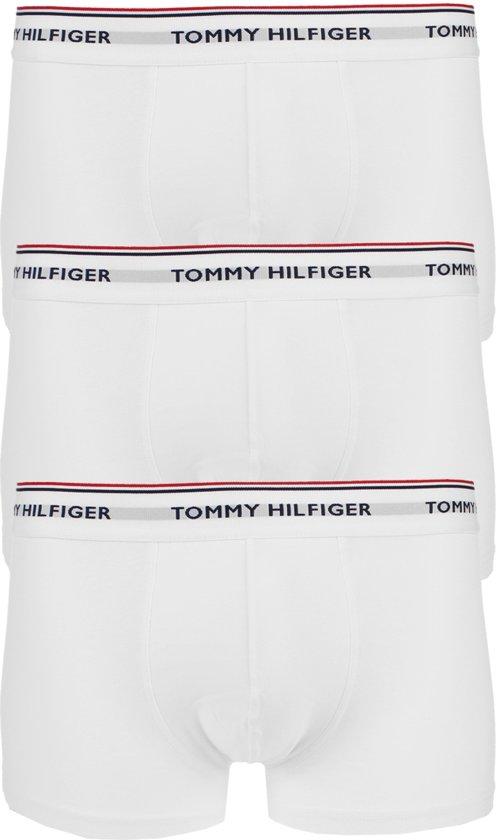 Tommy Hilfiger - 3-pack Low Rise Premium Trunk Boxershorts Wit - S