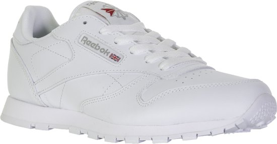 add713ef4b5 Reebok Meisjes Sneakers Classic Leather Kids - Wit - Maat 38