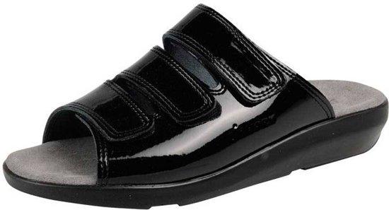 Bol.com bighorn 3001 zwart slippers dames 38