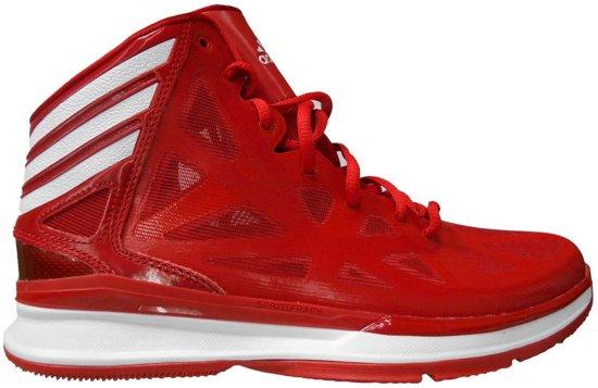 adidas Crazy Shadow 2 - Basketbalschoenen - Mannen - Maat 48 2/3 - Rood