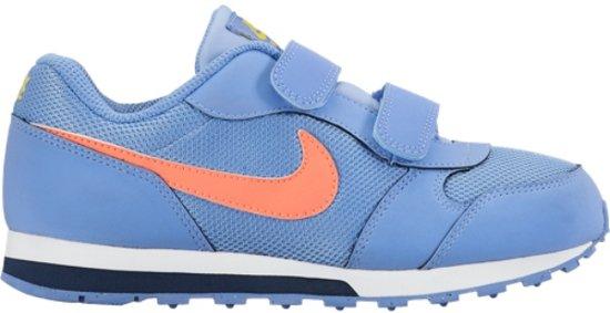 a340e073996 bol.com | Nike MD Runner 2 PS blauw oranje sneakers kids