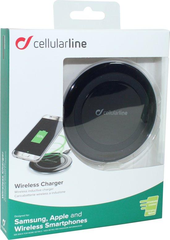 Cellular Line Cell Draadloze Oplader 5w/1a Slow Zwart