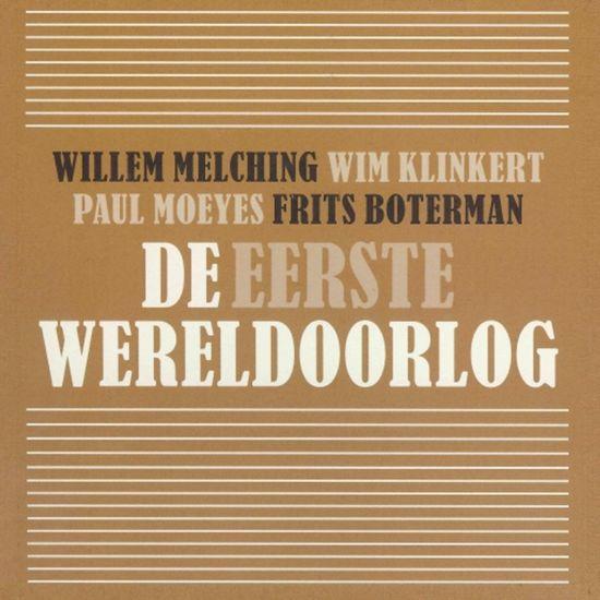 Boek cover De eerste wereldoorlog van Willem Melching (Onbekend)