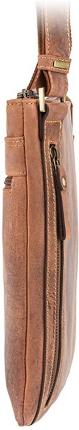 Oil Bag Messenger Taylor Visconti Brown pwBx607Cq