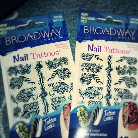"Kiss-Broadway nails  Waterdecals ""Nail Tattoos"" 16 st"