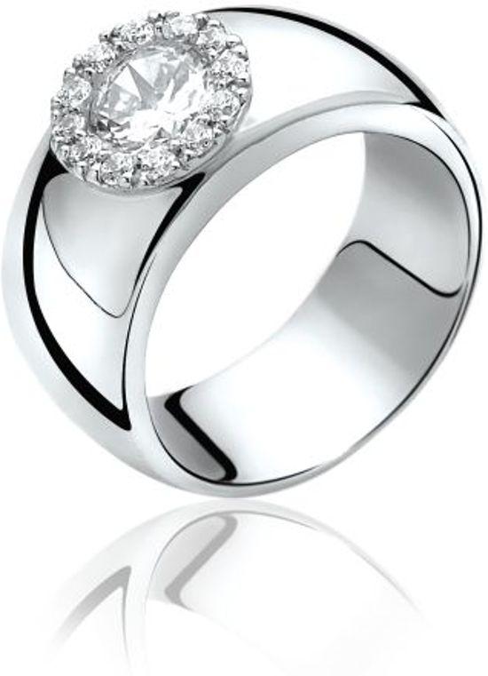 Zinzi - Zilveren Ring - Maat 62 ZIR665-62