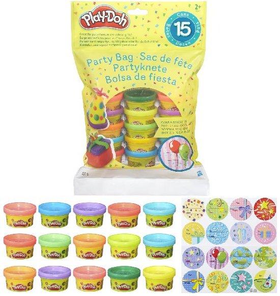 Play-Doh Party Bag - 15 potjes