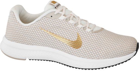 half off a56f9 d2d5a nike sneakers dames beige