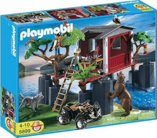 playmobil jungle boomhut 5899 playmobil speelgoed. Black Bedroom Furniture Sets. Home Design Ideas