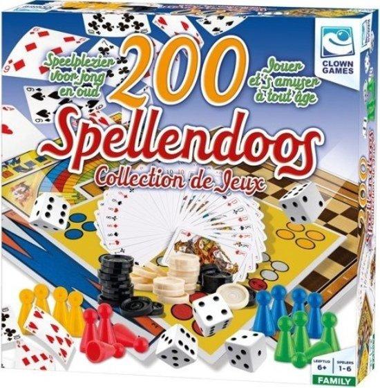 Afbeelding van het spel Clown Games Spellendoos 200-delig