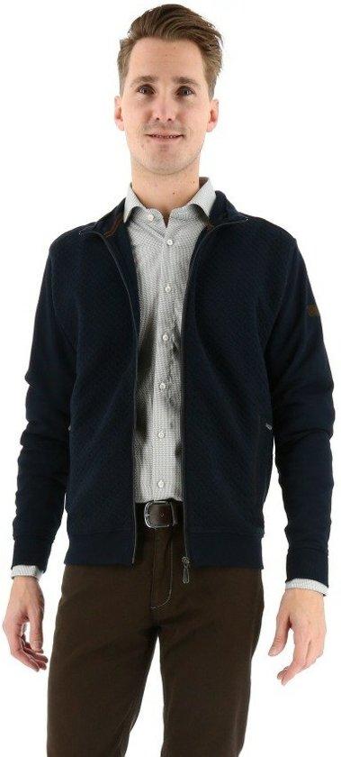 Baileys vest met rits navy_XL, maat XL