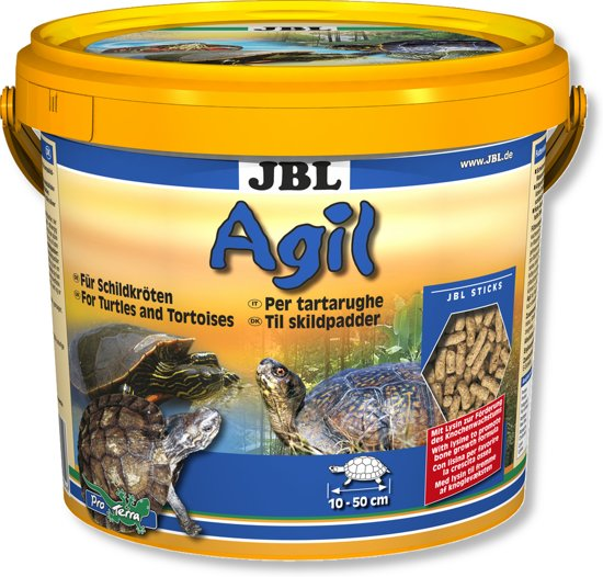 Jbl Agil 10,5 liter schildpaddenvoer