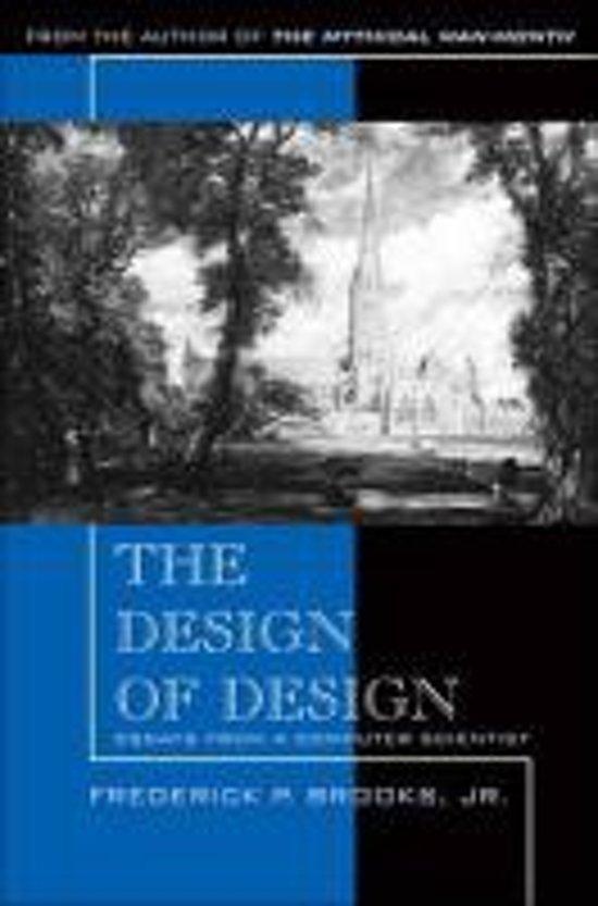 Boek cover The Design of Design van Frederick P. Brooks (Paperback)