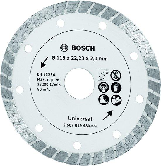 Bosch Diamant slijpschijf - Turbo - 115 mm