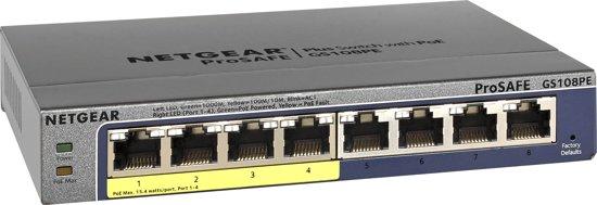 Netgear ProSAFE GS108PE - Switch