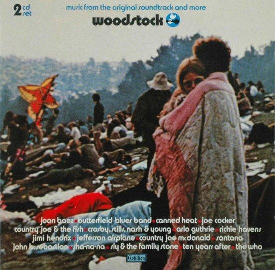 CD cover van Woodstock Vol.1 (Ost) van Various