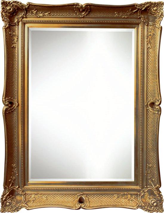 Grote Barok Spiegel Glenn Buitenmaat 79x89cm Goud