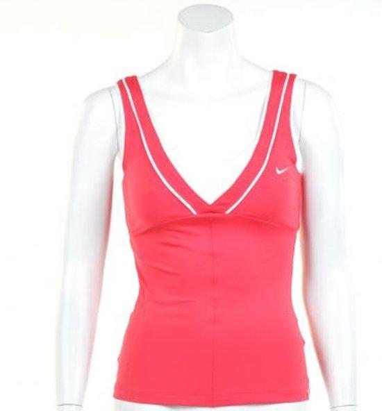 Nike Smash Classic Tank - Sporttop -  Dames - Maat XS - Roze;Wit