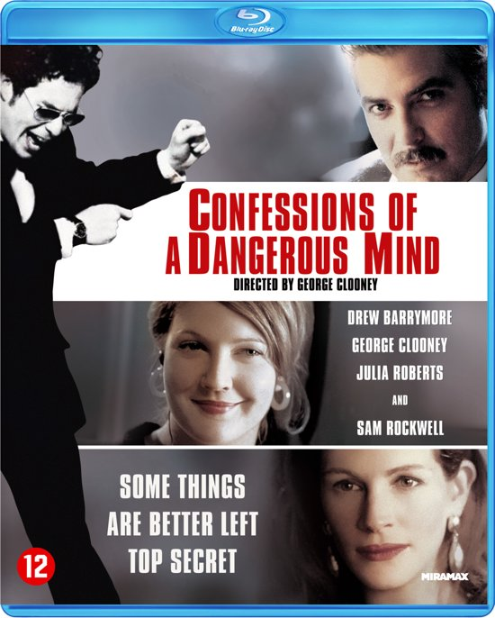 Cover van de film 'Confessions Of A Dangerous Mind'