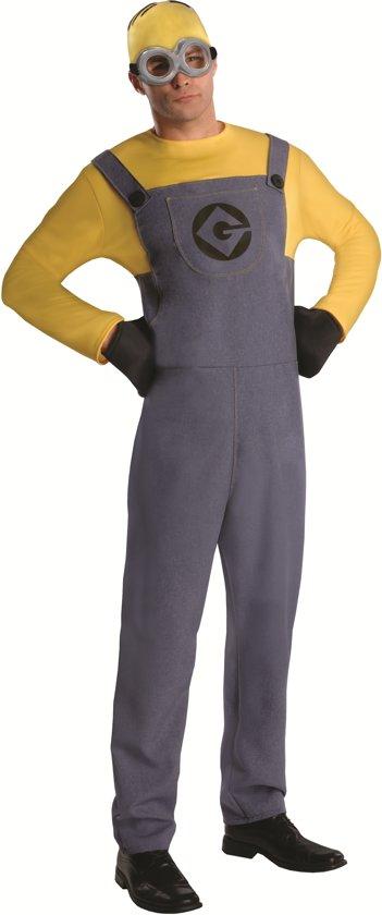 Minion Dave - Kostuum Volwassenen - Maat One Size