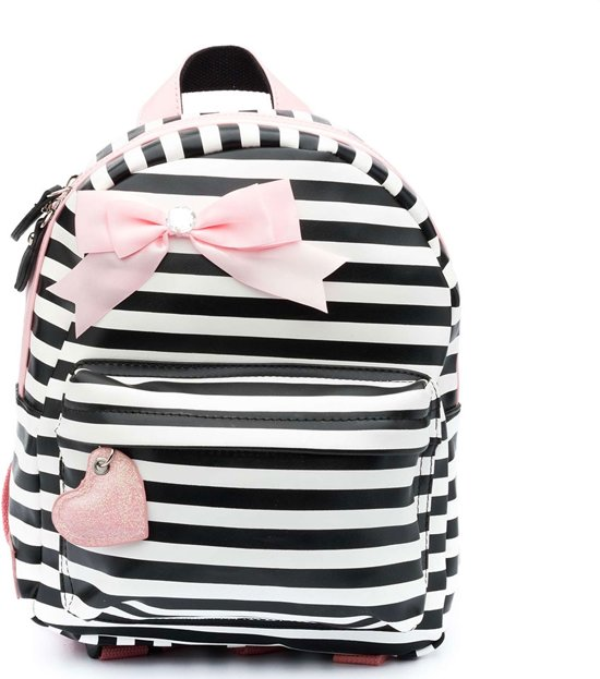 Zebra Rugzak: Zebra Trends Girls Rugzak S Stripes Pink