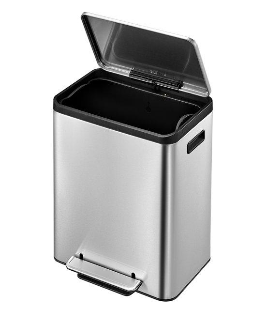 Eko Rejoice Pedaalemmer 30 30 Liter.Bol Com Eko Ecocasa Prullenbak 30 L Mat Rvs