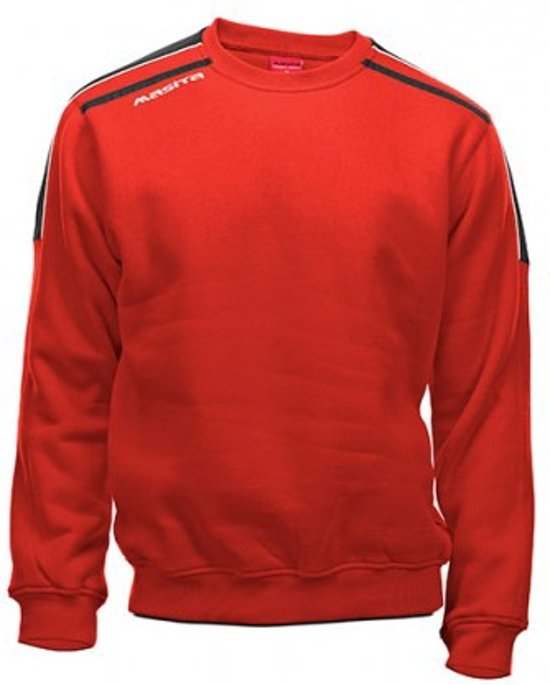 Masita Striker Sweater - Sweaters  - rood - 152
