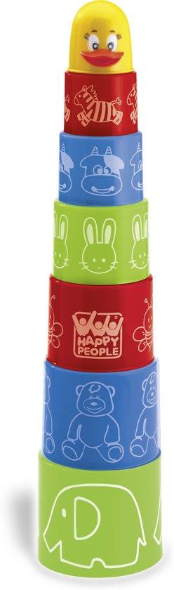 Afbeelding van Happy Baby Stapelbekers (8 delig) speelgoed
