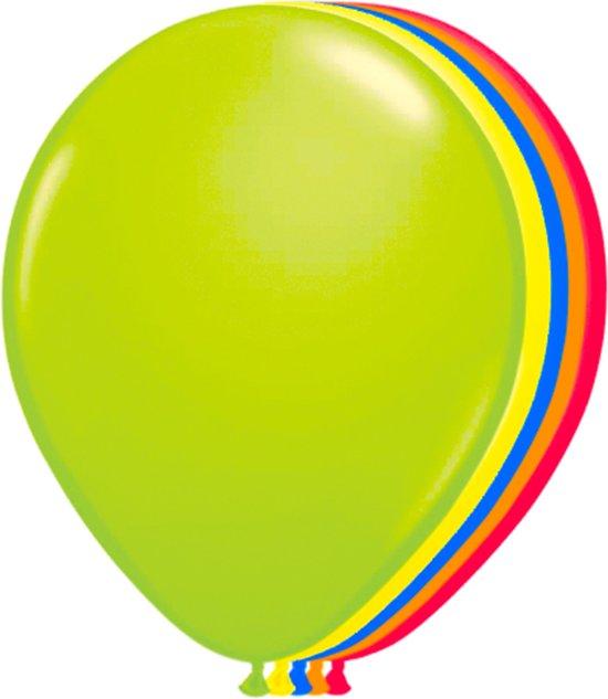 Neon Ballonnen - 100 Stuks