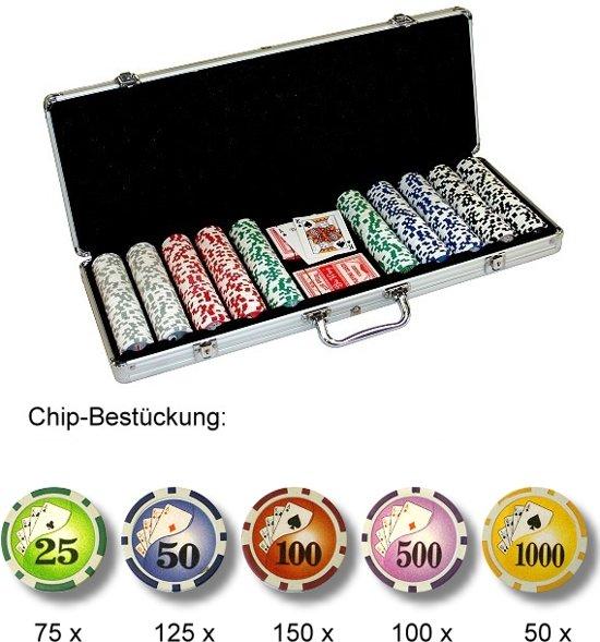 Afbeelding van het spel Pokerkoffer 500 - royal flush