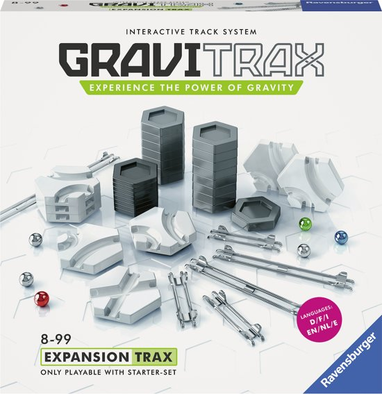 GraviTrax® Tracks / Baan uitbreiding - Knikkerbaan / Kogelbaan