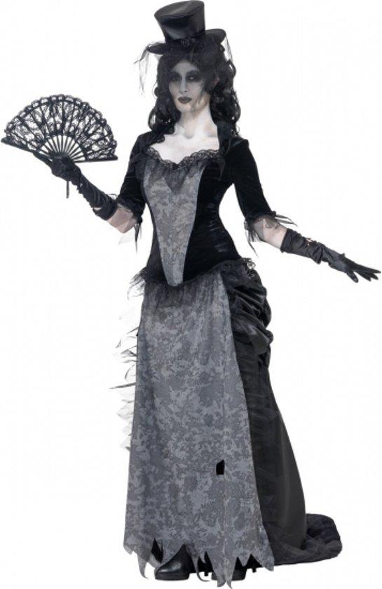 Halloween Kostuum.Bol Com Zwarte Weduwe Halloween Kostuum 44 46 L Smiffys